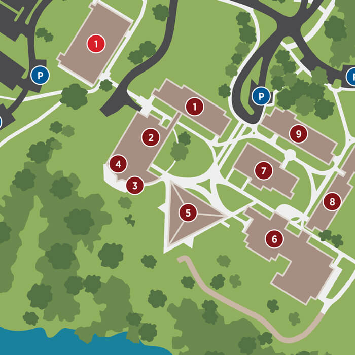 U Michigan Campus Map.Visit Concordia